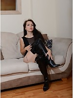Girls In Leather Boots Free Sample Pictures