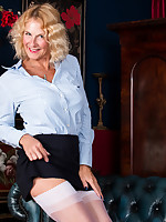 Anilos - Mature Pleasure featuring Molly Maracas. (Photos)
