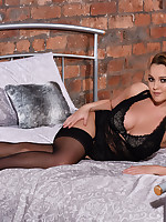 Jodie Gasson British Model Nude - JODIE WEARING HER NEW LINGERIE