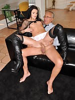 Jim Slip UK Porn video: Delicious Kitty Black